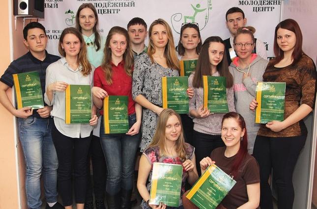 18 человек получили сертификаты об окончании Школы волонтера Молодой Ганзы, фото-1