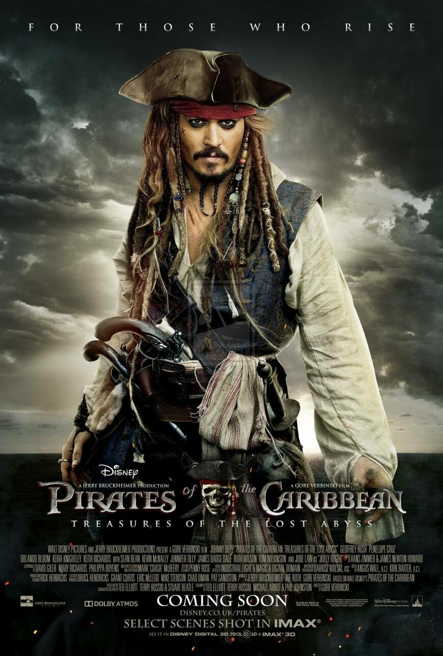 Пираты Карибского моря 5  дата выхода новости