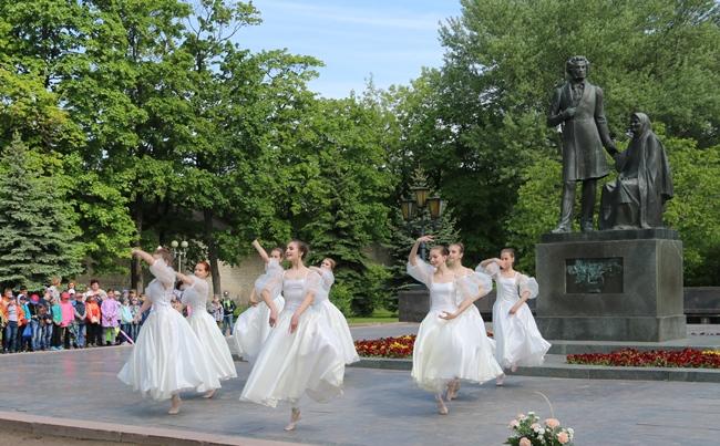 В Пушкинский день России псковичи почтили память великого поэта, фото-3