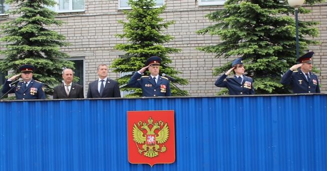 Торжественным построением отметили День России в Псковском филиале Академии ФСИН, фото-1