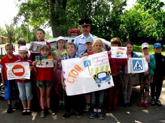 В Псковской области сотрудники автоинспекции провели акцию «Безопасные каникулы», фото-1