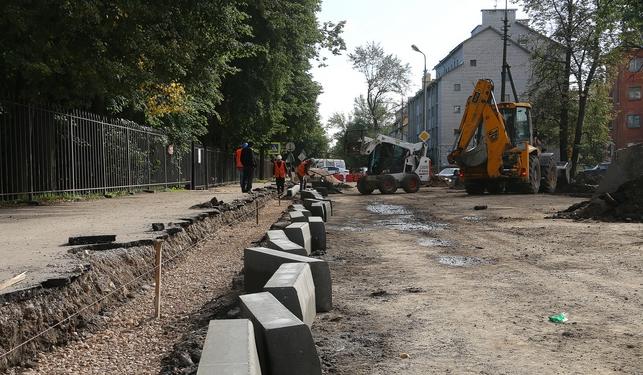 В Пскове для движения открыли улицу Герцена после ремонта, фото-2