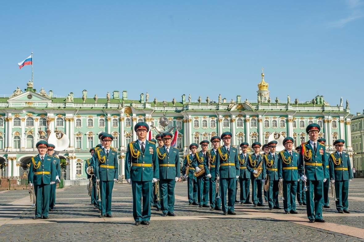 Впервые в Пскове выступит военный оркестр с 90-летней историей , фото-1