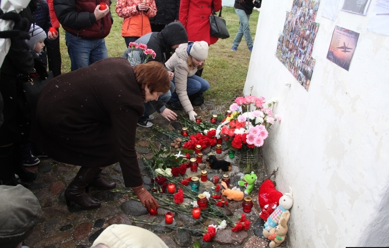 В Пскове вспоминают погибших в авиакатастрофе над Синаем, фото-1