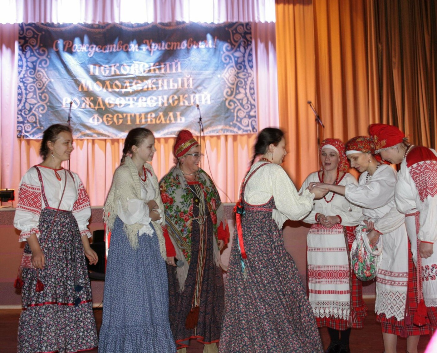 12 января в Пскове прошел Рождественский концерт в рамках VI Рождественского фестиваля (ФОТО), фото-7