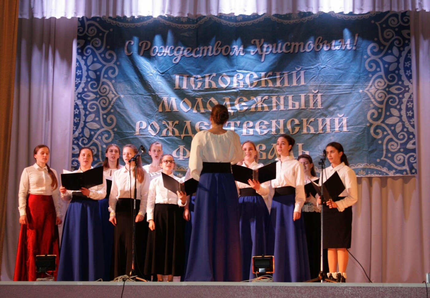 12 января в Пскове прошел Рождественский концерт в рамках VI Рождественского фестиваля (ФОТО), фото-8