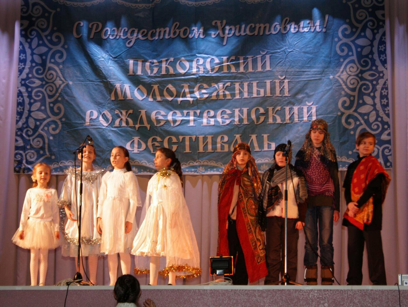 12 января в Пскове прошел Рождественский концерт в рамках VI Рождественского фестиваля (ФОТО), фото-9