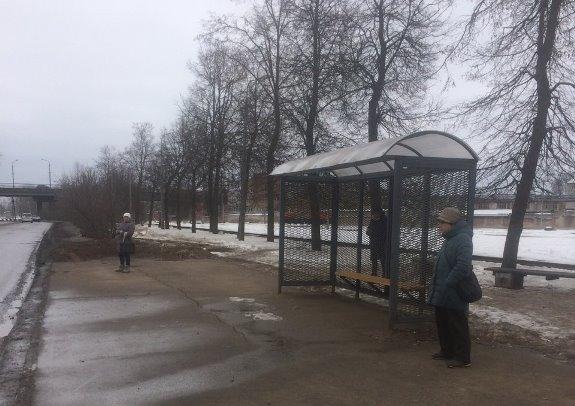 Шесть новых автобусных павильонов установлено в Пскове, фото-1