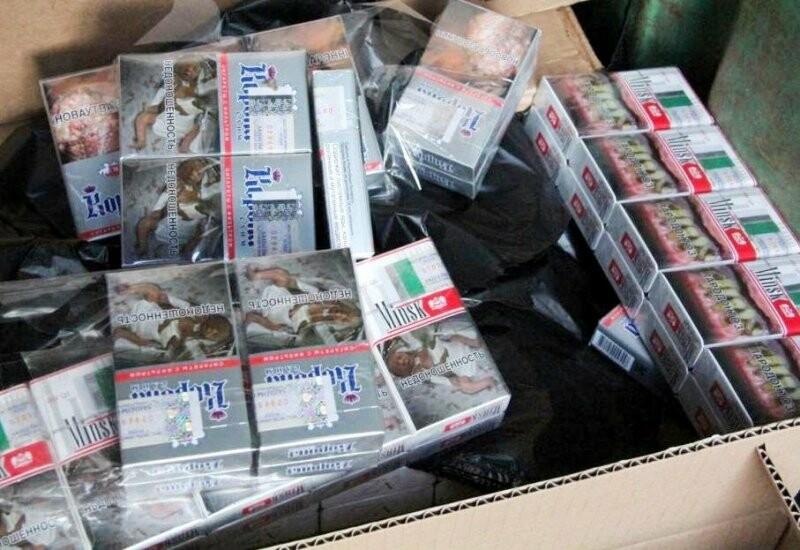 В Псковской области из незаконного оборота изъята партия сигарет на сумму более пяти миллионов рублей, фото-1