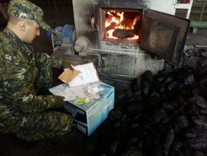 В Псковской области уничтожили изъятые наркотики, фото-1