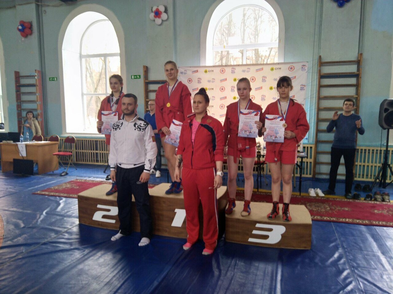 Псковские самбистки заняли призовые места на соревнованиях в Твери , фото-1