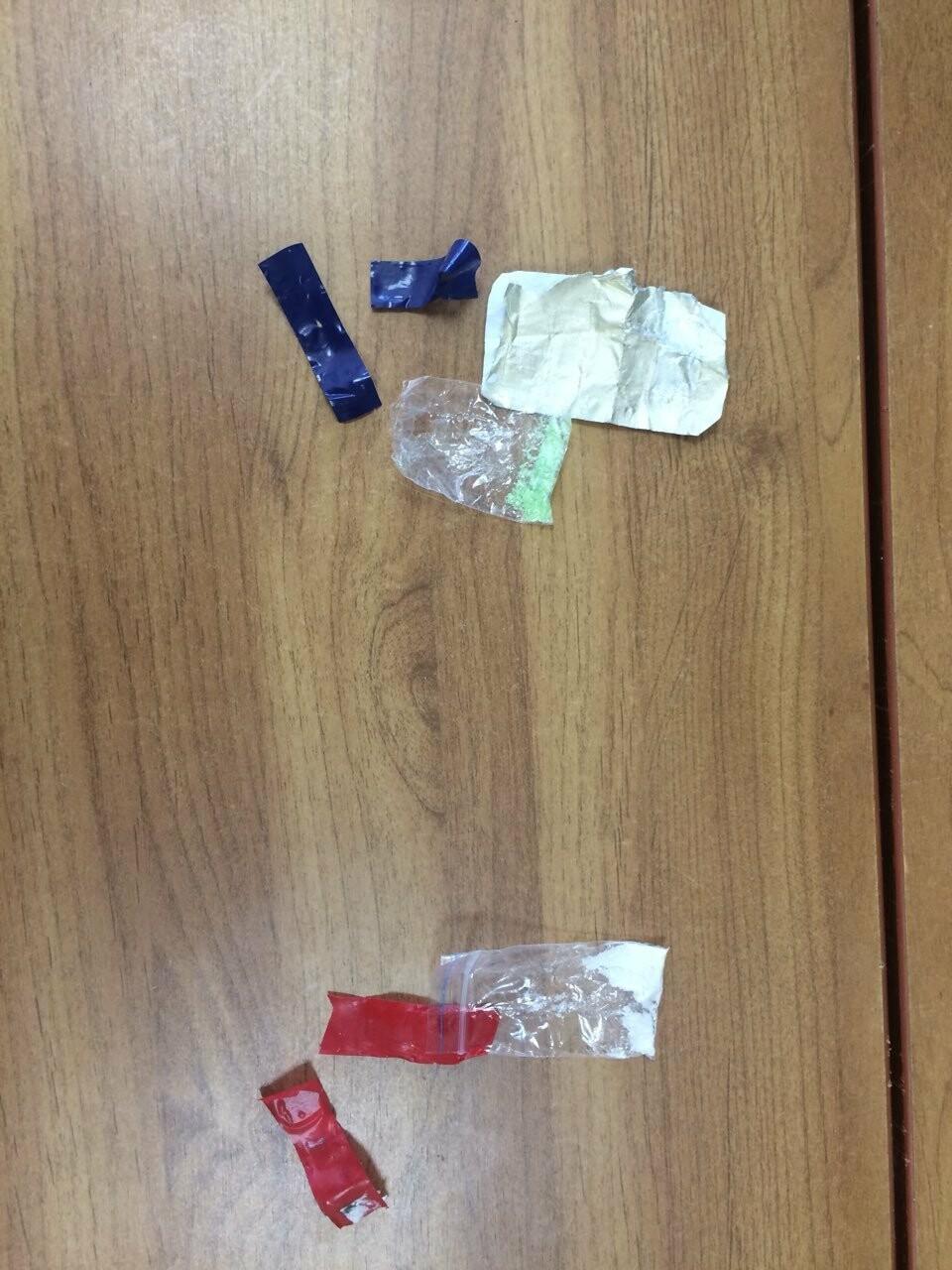 В Пскове сотрудники ОМОН задержали гражданина подозреваемого в хранении наркотиков, фото-1