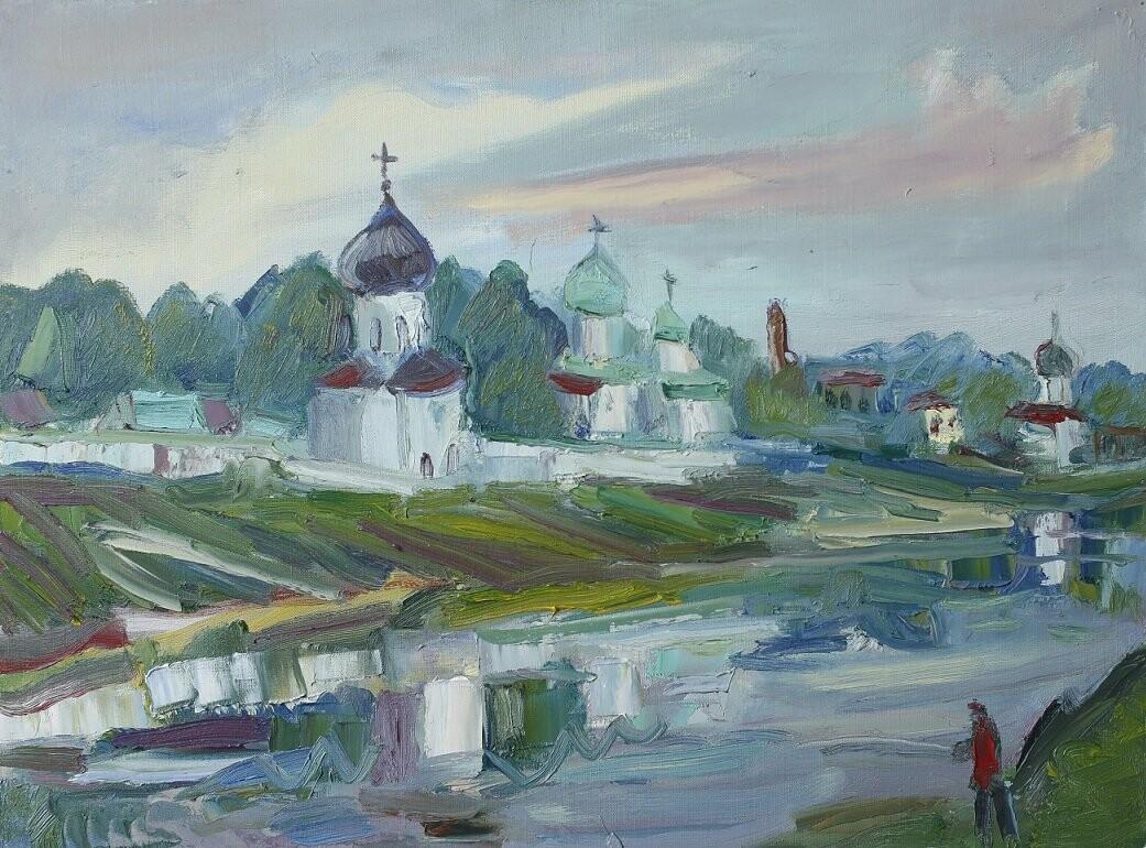 Галерея «ЦЕХ» приглашает на открытие выставки живописи и графики «Псковский пленэр», фото-2