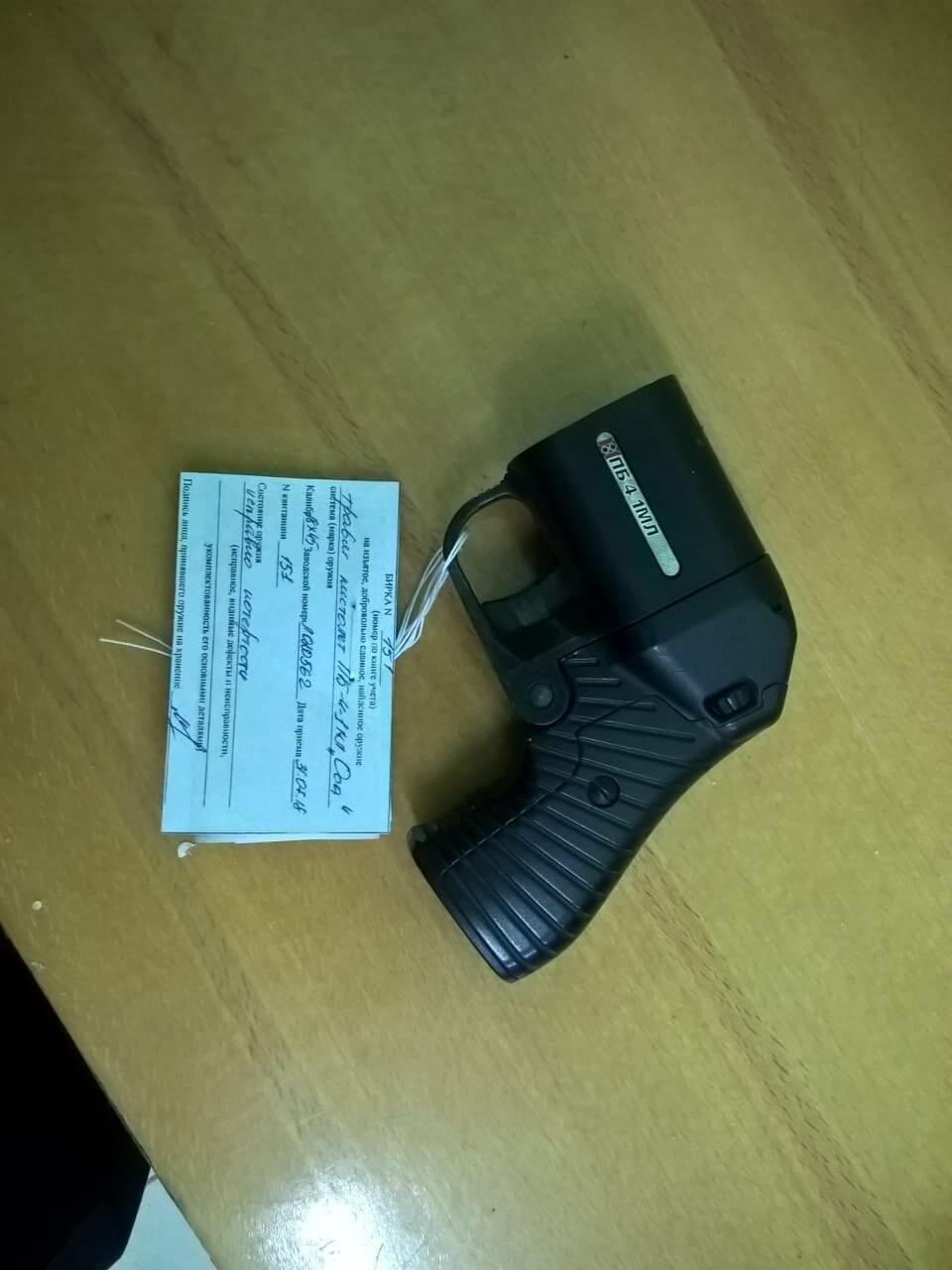 В Псковской области сотрудники Росгвардии провели профилактическую операцию «Оружие», фото-1