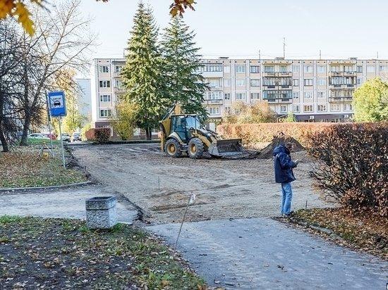 В конце августа в Пскове откроют отремонтированный сквер Искусств , фото-1