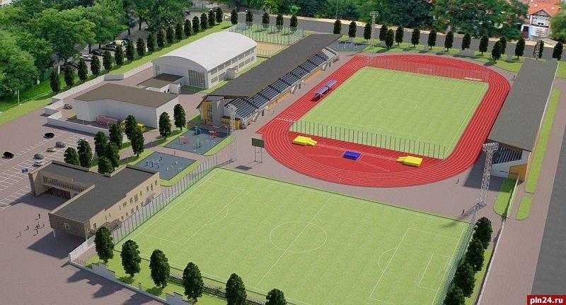 Обновленный стадион «Машиностроитель» открылся в Пскове, фото-1