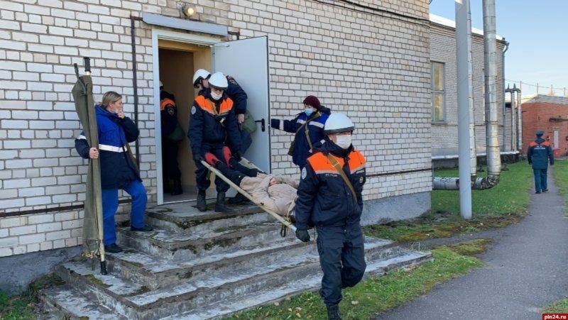 Во Всероссийской тренировке по гражданской обороне принимает участие псковское УФСИН, фото-1