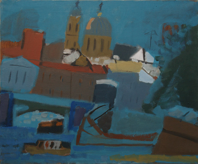 На выставке в Пскове представят около сотни работ петербуржского художника, фото-1