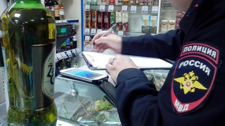 В Пскове полицией выявлен факт продажи алкоголя подростку